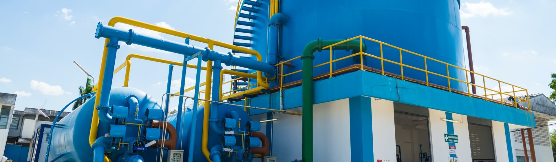 Gestionamos sistemas de saneamiento municipales y privados